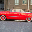 Ford Custom Deluxe Tudor 1951 car, side view — Stock Photo #75721113