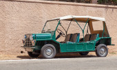 Austin Mini Moke 1967, resort buggy from 60s — Foto de Stock