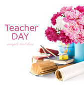 Teacher Day — Stock Photo