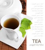 Tea breakfast — Stock Photo
