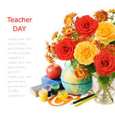 Teacher day — Fotografia Stock