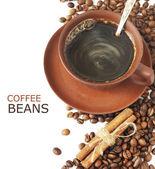 Coffee breakfast — Stock Photo