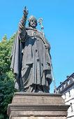 Monument of Julius Echter von Mespelbrunn, Bishop of Wurzburg. B — Stock Photo