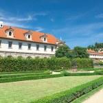 Czech Republic: Wallenstein Riding Hall in baroque garden. — Stock Photo #58429409