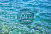 Realistic water — Stock Vector