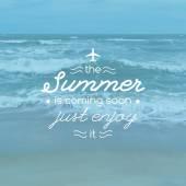 Summer — Stock Vector