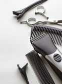 Professional tools of hairdresser  — Stock Photo