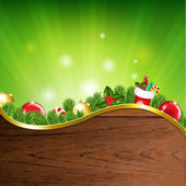 Happy Xmas Banner — Stock Vector