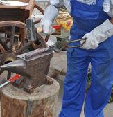 Blacksmith forges — Stock Photo