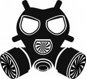 Gas mask vector — Stock Vector
