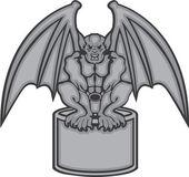 Gargoyle vector — Stock Vector