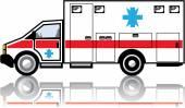 Ambulance vector — Stock Vector