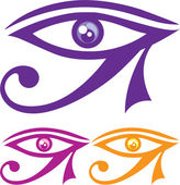 Eye of Horus — Stock Vector