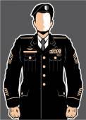 Soldier Hero vector — Stock Vector