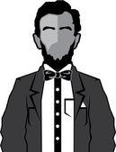 Lincoln cartoon vector — Stock Vector