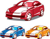 Sport coupe vector — Stock Vector
