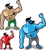 Color Hulk — Stock Vector