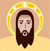 Jesus vector — Stock Vector