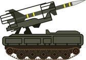 Rocket launcher — Stock Vector