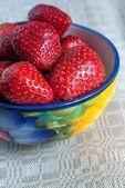 Ripe berry strawberry — Stock Photo