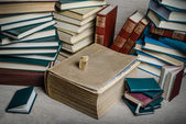Books from my library — Stock Photo