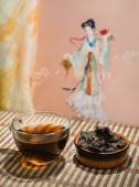 Chinese Puer tea. — Stock Photo