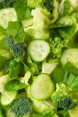 Salade met groenten — Stockfoto