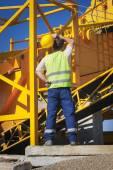 Trabalhador da construção civil — Fotografia Stock