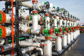 Oil and gas processing plant — Stock Photo