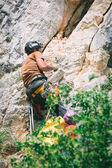 Team von kletterer — Stockfoto