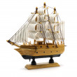 Sailing boat model — Stock Photo #58992821