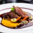 Постер, плакат: Roasted duck fillet