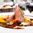 Roasted duck fillet — Stock Photo #71627425