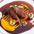 Roasted duck fillet — Stock Photo #79787928