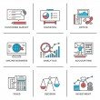 Business and finance icons — Stock Vector #65000773