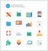 Web development  icons — Stock Vector