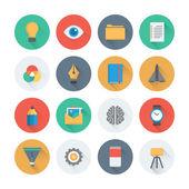 Creative development  icons — Vector de stock