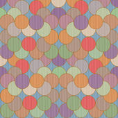 Background with dots and circles — Stock Photo