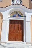 Greek Orthodox church in Kefalos — Stock Photo