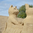 Sand Sculpture Festival in Lappeenranta — Stock Photo #53615373