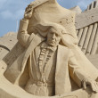 Sand Sculpture Festival in Lappeenranta — Stock Photo #53615381
