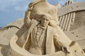 Sand Sculpture Festival in Lappeenranta — Stock Photo