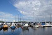 Lappeenranta harbor. — Stock Photo