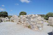 Antieke ruïnes, griekenland. — Stockfoto