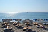 Beach on a Greek island of Kos. — Stock Photo