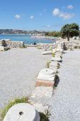 Antique ruins, Greece. — Stock Photo