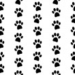 Paw symbol seamless pattern — Stock Vector #56159711