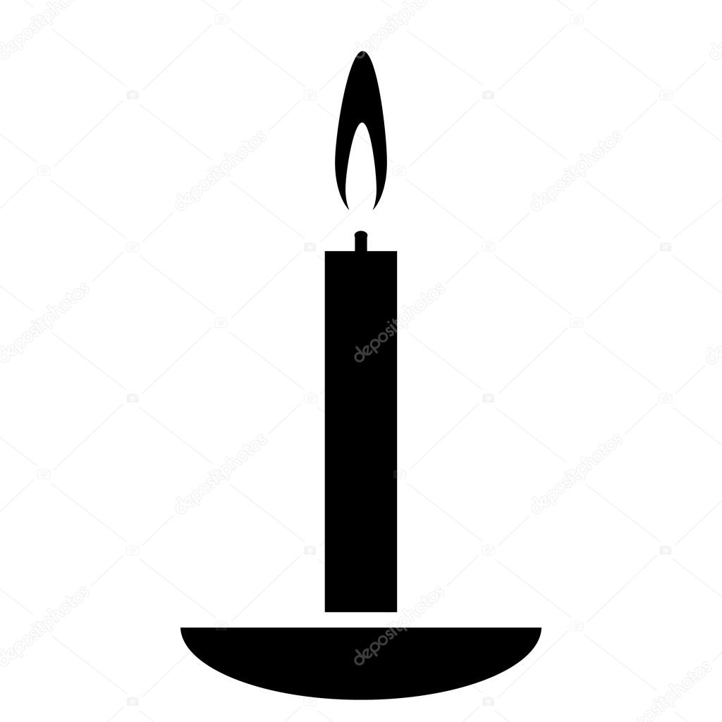 Candle icon — Stock Vector #56768267