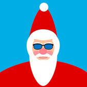 Santa Claus face  — Stock Vector