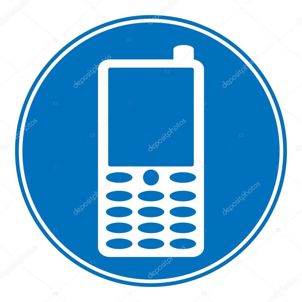 电话允许标志 — 图库矢量图像08 konstsem